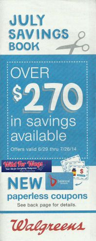 Walgreens July Coupon Book! Save with these Walgreens coupons.