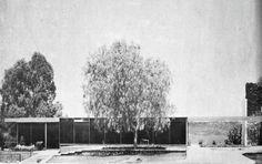 Casa Otero 1952 Col. Jardines del Pedregal. México D.F. Arq. Manuel González Rul
