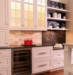 Custom Kitchen Cabinets designed by True North Cabinets in New Canaan CT. This traditional style kitchen includes our door style and is finished in our Real Brushed Stroke finish. Bath Cabinets, Custom Kitchen Cabinets, Custom Kitchens, Custom Cabinetry, White Cabinets, Wood Floor Kitchen, Diy Kitchen, Kitchen Design, Luxury Closet