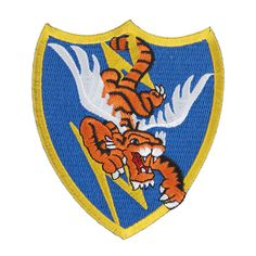 WWII US AIR FORCE FLYING TIGERS AVG BADGE PATCH