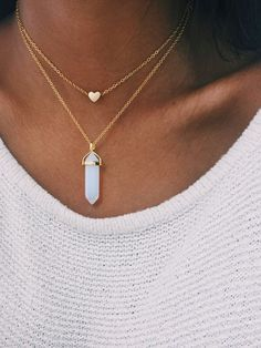 Opal - Gold crystal