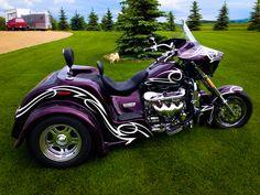 Custom Motorcycles, Custom Bikes, Cars And Motorcycles, Monster Bike, Trike Kits, Boss Hoss, Harley Davidson Trike, Cruiser Motorcycle, Hot Bikes