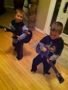Twin Guitar Jam