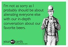 We all speak craft beer