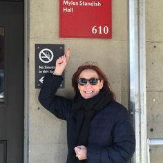Been 37 years #mylesstandishhall #bostonuniversity by robin_borim