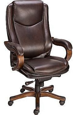 Leather Office Chairs on Sale | desk chair makeover | Pinterest ...