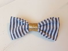 Blue Striped Beauty by MissPaisleyPearl on Etsy, $5.00