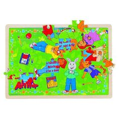 PBS Kids Wooden Puzzle - Story Surprise Daydreaming/Sandbox 2-Pack (48 Piece)