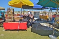 Art exhibit on the lawn at the 8th annual San Felipe Blues & Arts Fiesta held March 28th - 29th, 2014 #sanfelipe #sanfelipebluesandarts