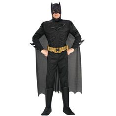Batman The Dark Knight Rises Muscle Chest Deluxe Adult Costume from BuyCostumes.com