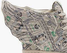 "lowest price 230d8 a7620 adidas Originals by Jeremy Scott – JS Wings 2.0 ""Money"""