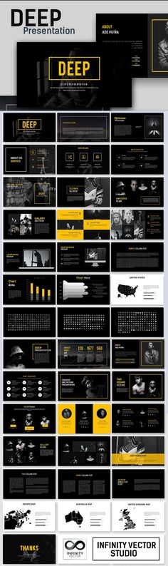 121 best business powerpoint templates images on pinterest in 2018 deep creative presentation powerpoint template wajeb Choice Image