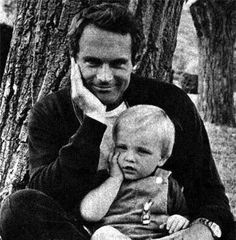 Terence Hill and his son Jess