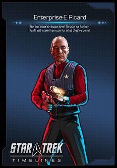 Enterprise-E Picard (Patrick Stewart) from Star Trek: Nemesis in Star Trek Timelines