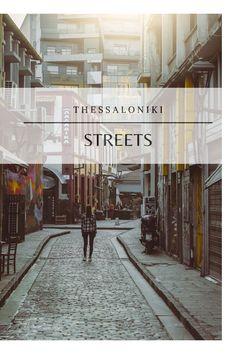 Thessaloniki, Street, Places, Travel, Viajes, Destinations, Traveling, Trips, Walkway