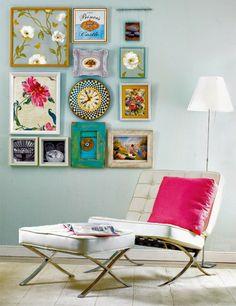 gua para colgar y crear decorativas con cuadros
