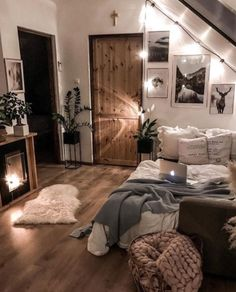 Cute Bedroom Decor, Room Design Bedroom, Room Ideas Bedroom, Home Bedroom, Master Bedroom, Bedroom Inspo, Gray Bedroom, Bedroom Wall, Bedroom Quotes