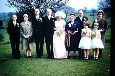Stirk House has hosted wedding receptions for a number of years - this is Mr & Mrs Colgate in 1961 Bridesmaid Dresses, Wedding Dresses, Wedding Receptions, Mr Mrs, Special Day, Wedding Photos, Awards, Number, House