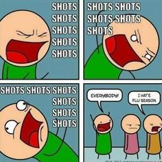 I feel like this is how everyone sees me when it comes to Phlebotomy and administering injections