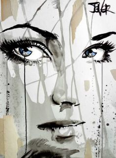 "Saatchi Art Artist LOUI JOVER; Drawing, ""bones"" #art"