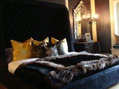 Bedroom designed by Alissa Sutton