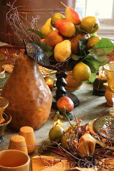 Pear Tablescape