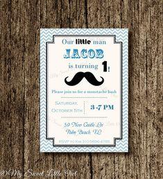 Invitation de moustache  moustache inviter par MySweetLittleOwl
