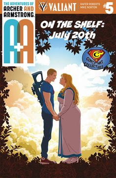 Preview of A&A: THE ADVENTURES OF ARCHER & ARMSTRONG #5 by Rafer Roberts and Valiant Entertainment A&A: THE ADVENTURES OF ARCHER & ARMSTRONG #5 – an ALL-NEW JUMPING-ON POINT guest-s…