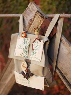 The handmade experts at HGTV.com share instructions for creating a fabric backpack to help kids enjoy the outdoors.