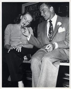 Frank Sinatra and Judy Garland. what a gentleman.