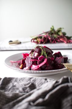Tangy Beets with Fennel, Walnuts, and Chèvre (recipe) / by Flourishing Foodie