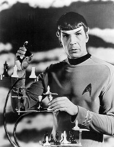 Rare Photos - star-trek-the-original-series Photo #chess