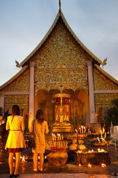 There are over 1,000 temples in Chiang Mai.