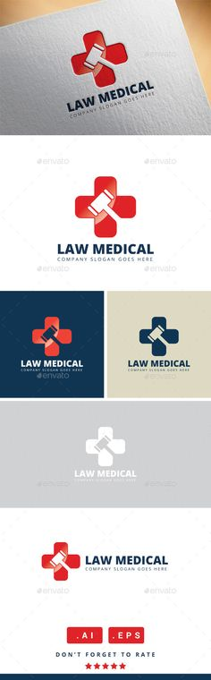 Law Medical Logo — Vector EPS #creative #professional • Available here → https://graphicriver.net/item/law-medical-logo/11461241?ref=pxcr