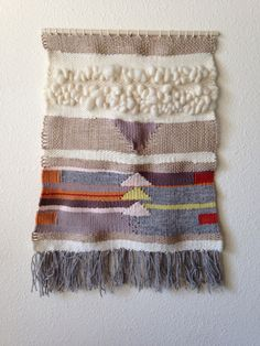 #woven #weaving #wovenwallhanging #tapestry #textiles