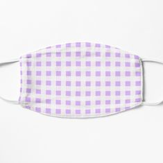 The Duff, Spandex Fabric, Face Masks, Chiffon Tops, Gingham, Lilac, Art Prints, Printed, Awesome