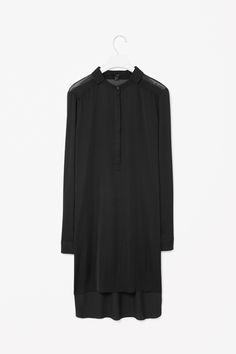cos black shirt dress - Google Search