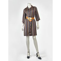 SALE! Vintage 70s Dress • Shirt Dress • Mod Dress • Striped Dress • Button Up Mini Dress • Parade New York 1970s Dress • Black White Gold Teal Purple • Shirtdress (Medium - Size 7)  #vintage #clothing #fashion #style #vintageclothing #vintagedress #vintagedresses #vintagefashion #vintagestyle #vintageshop #mod #modclothing #modfashion #moddress #shirtdress #70sfashion #70s #70sclothing #70sstyle #70sdress #stripeddress #stripedminidress #minidress #blackdress #1970sdress #1970s #retro #boho…