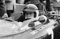 Jackie Stewart at Formula One Grand Prix