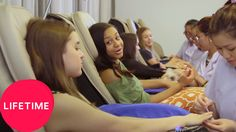 Dance Moms: Girls' Day Off - Spa Time | Lifetime - YouTube