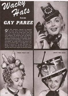 1940s Very Gay Hats