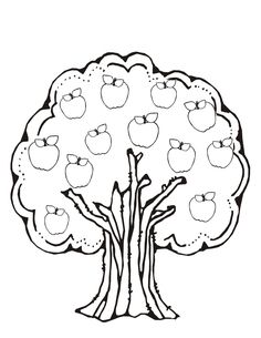 Roll an Apple Tree: dice game. Students roll a single die and then fill in the corresponding apple. They only get to fill in one apple each roll. Students can use crayons, markers, or the ever so popular.Do-a-Dot Markers to fill in the apples. Preschool Apple Theme, Apple Activities, Fall Preschool, Autumn Activities, Math Classroom, Kindergarten Math, Fun Math, Preschool Activities, Teaching Math