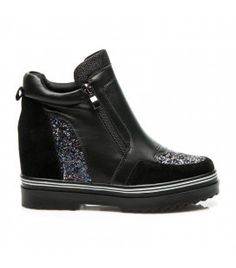 7181bb4434 Dizajnérske topánky s brokátom 29273-2B