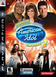 Karaoke Revolution Presents American Idol Encore 2 with Microphone  Playstation 3 * Want to know more, click on the image. Note:It is Affiliate Link to Amazon.