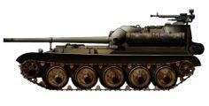Rusia - SU101 destructor de tanques