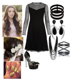 Lane Silver: Bridesmaid by fangirlwithproblems on Polyvore featuring rag & bone, Betsey Johnson, Repossi, Jorge Adeler, Eva Fehren, Diane James, women's clothing, women's fashion, women and female