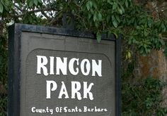 Rincon Point Beach, near Carpenteria Good place to include in coastal road trip to No Cal