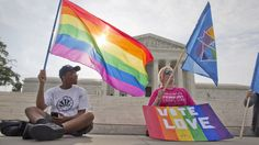 Supreme Court Declares Same-Sex Marriage Legal In All 50 States  Read more: http://www.prophecydude.org/news/supreme-court-declares-same-sex-marriage-legal-in-all-50-states/