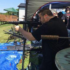 "Kris Ford running the SEG AR15-9MM suppressed with SEG Hancock suppressor, 4.5""barrel! #seg #segsuppressors #stealthengineeringgroup #suppressed #ar15 #9MM #fullauto #machinegun #igmilitia #iheartsuppressors #gunporn #assaultrifle #rifle #suppressor #2ndamendment #2a #silencer #suppressorporn #guns #weapons #ar9mm #krisford #sonsofguns #fordsfirearms #titanium #nfafanatics #weaponsfanatics #sickguns #nfa"