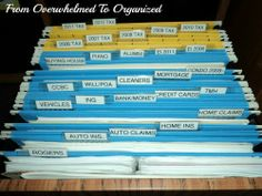 From Overwhelmed to Organized: Office Progress Week 3: Manuals Drawer